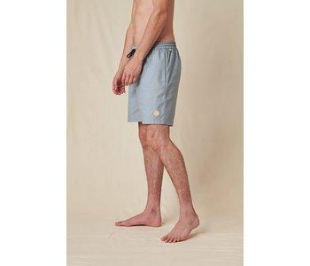 Globe - Maillot de bain homme hybride clean swell steel blue
