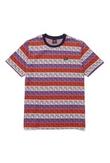globe Huf - T-shirt homme otis jacquard knit top poppy