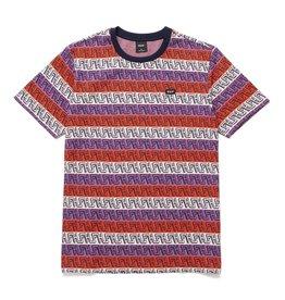globe Huf - T-shirt homme otis jacquard knit top poppy