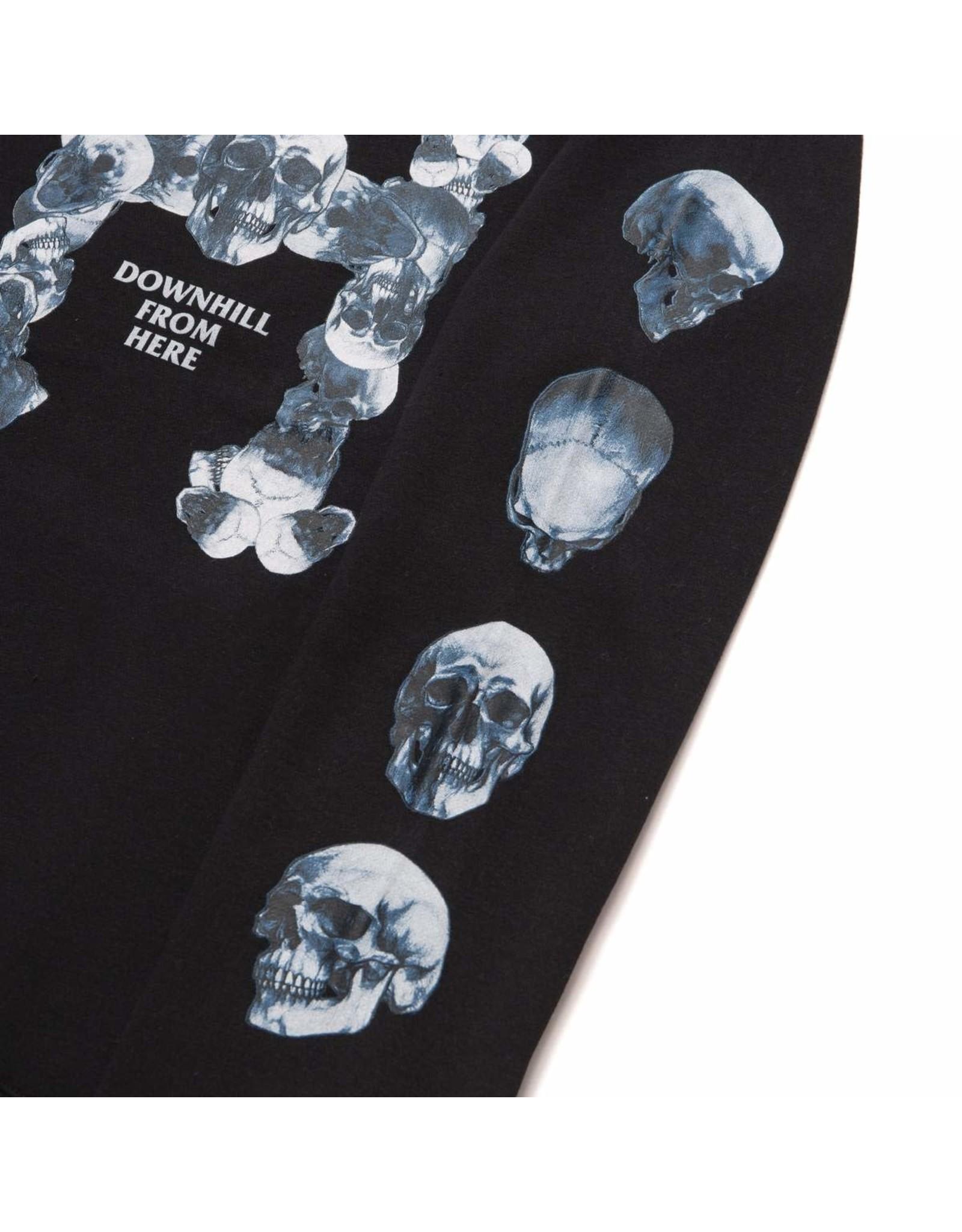 huf Huf - Ouaté homme skulls classic H  po black