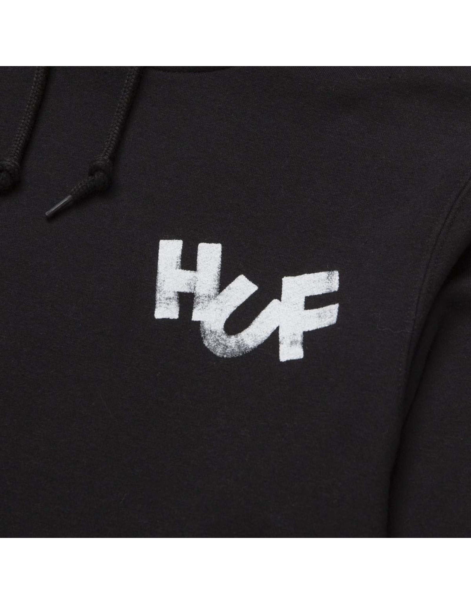 huf Huf - Ouaté homme haze brush po black