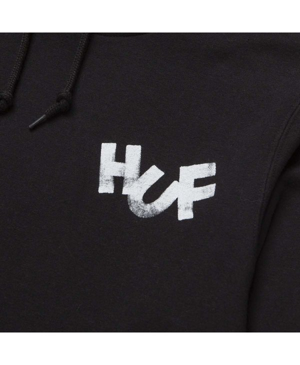 Huf - Ouaté homme haze brush po black