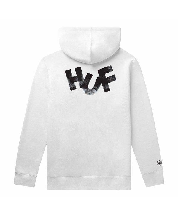 Huf - Ouaté homme haze brush po white