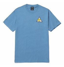 huf Huf - T-shirt homme pushing daisies TT columbia blue