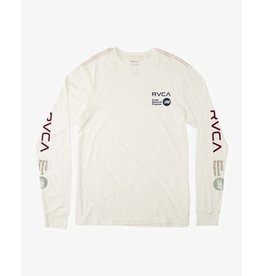 rvca Rvca - Chandail long  homme anp antique white