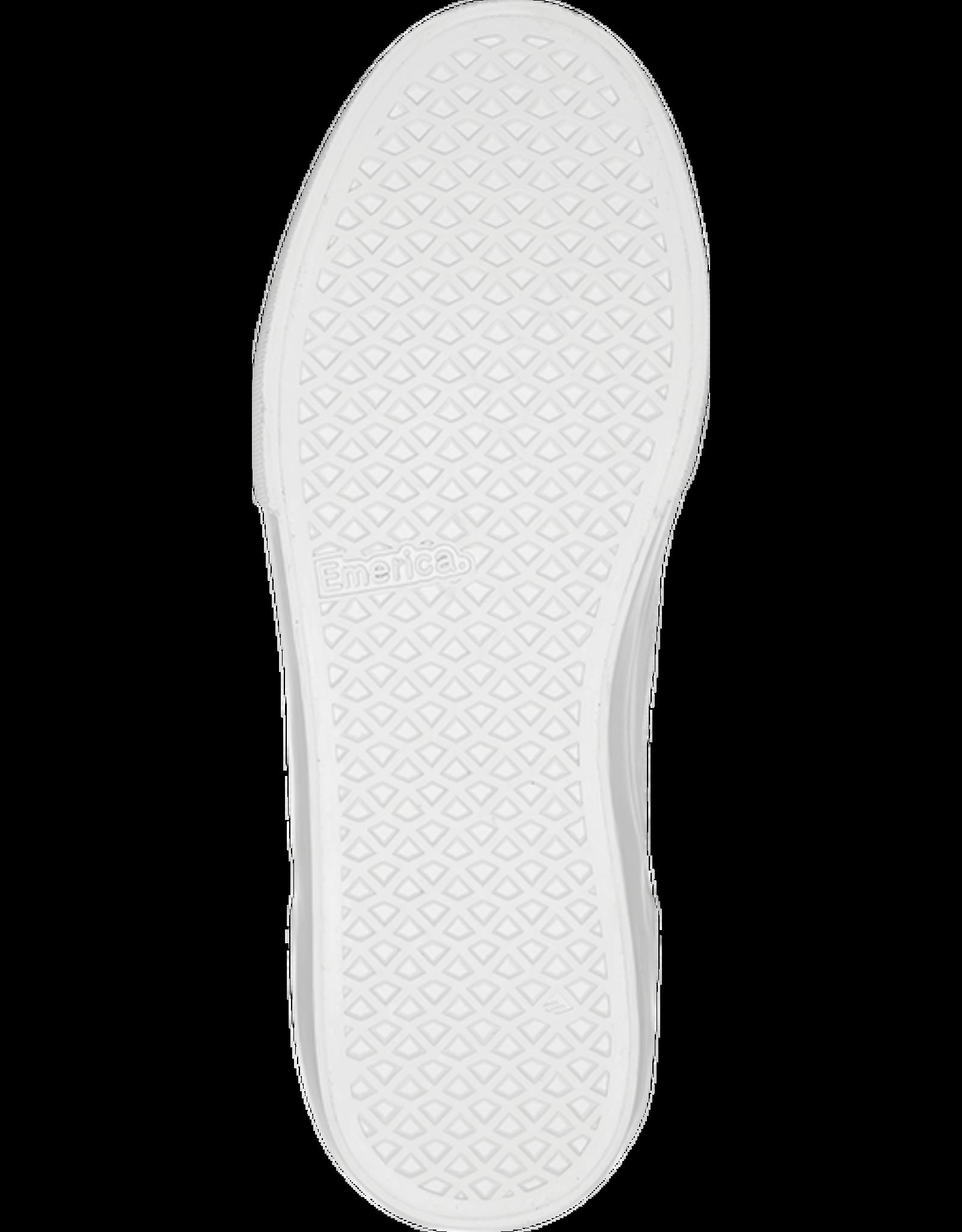 emerica Emerica - Soulier homme Wino g6 slip-on white/print
