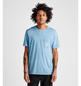Roark Roark - T-shirt homme peaking pocket marine blue