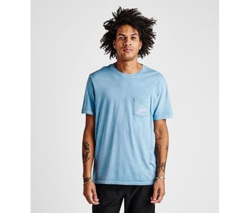 Roark - T-shirt homme peaking pocket marine blue