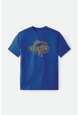 Brixton Brixton - T-shirt homme mahlon royal