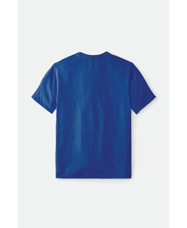 Brixton - T-shirt homme mahlon royal