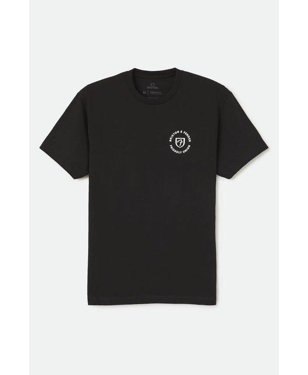 Brixton - T-shirt homme fender highway black
