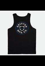 Brixton Brixton - Camisole homme crest black/royal