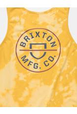 Brixton Brixton - Camisole homme lemon curry cloud wash