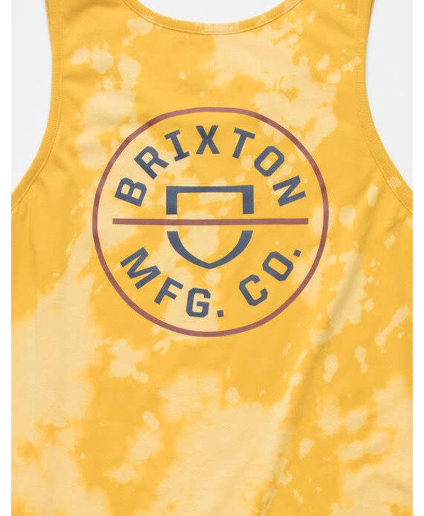 Brixton - Camisole homme lemon curry cloud wash
