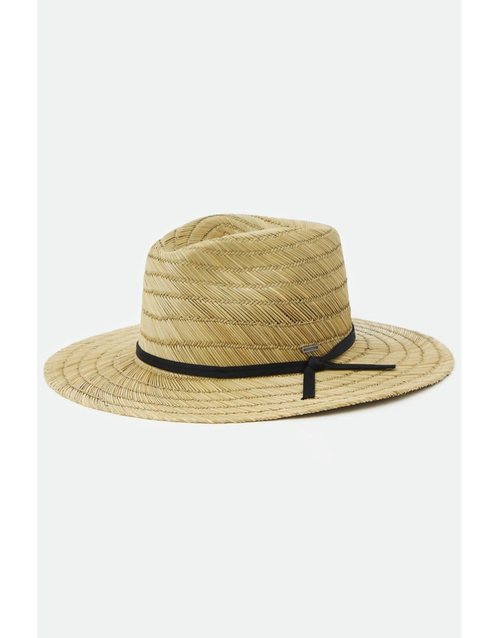 Brixton Brixton - Chapeau homme cohen straw cowboy dark tan