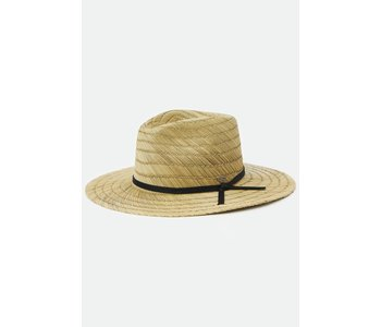 Brixton - Chapeau homme cohen straw cowboy dark tan
