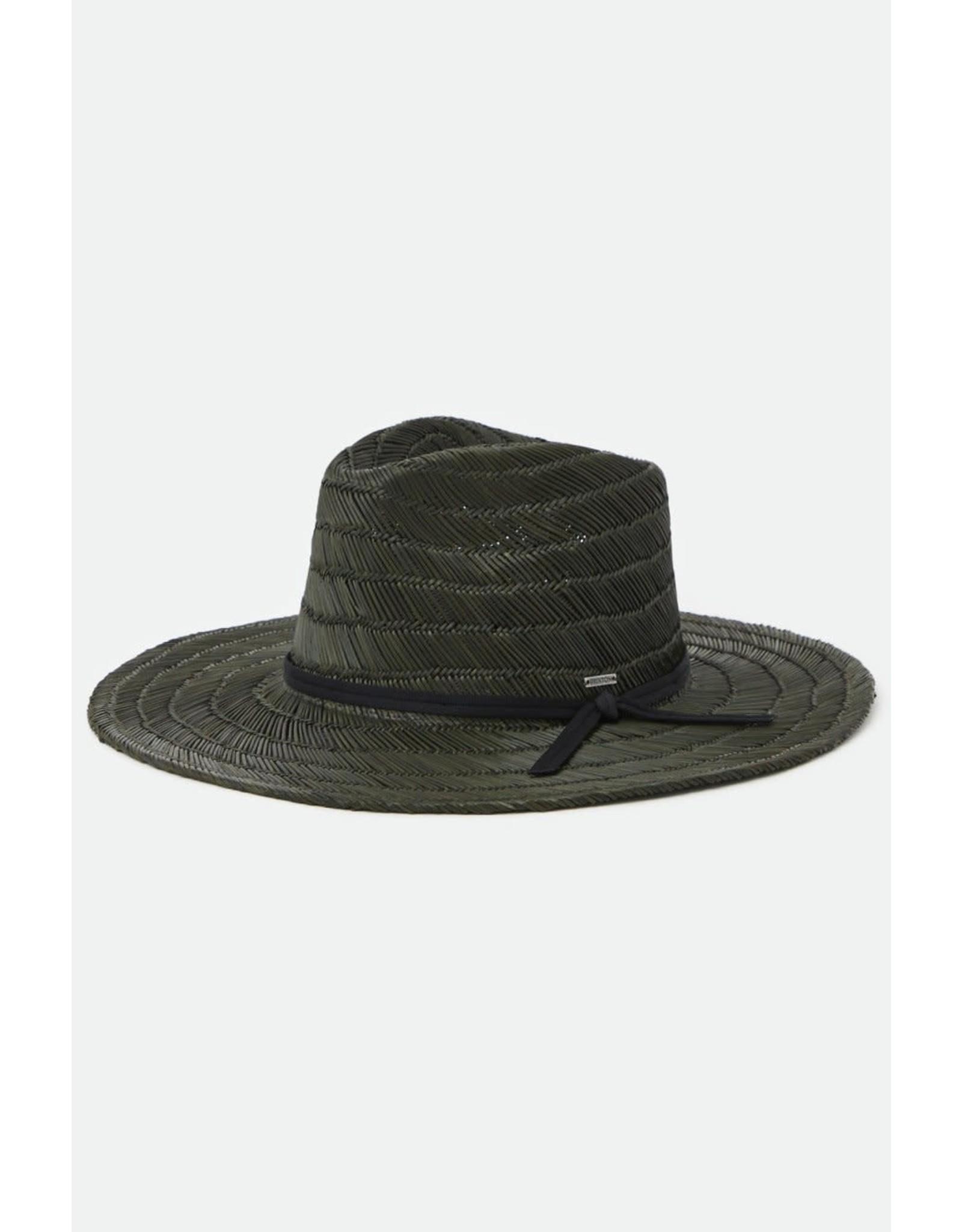 Brixton Brixton - Chapeau homme cohen straw cowboy washed black