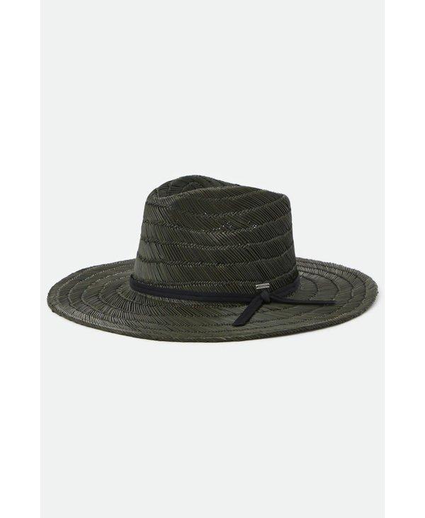 Brixton - Chapeau homme cohen straw cowboy washed black
