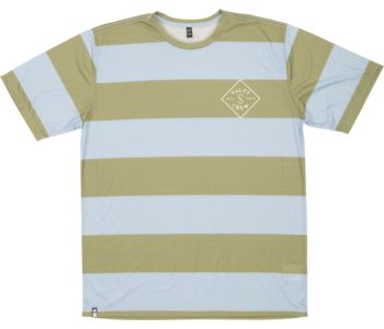Salty Crew - T-shirt homme helm uv knit pale blue heather