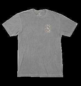 salty crew Salty Crew - T-shirt homme lurker overdyed asphalt