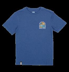 salty crew Salty Crew - T-shirt junior paradiso blue heather