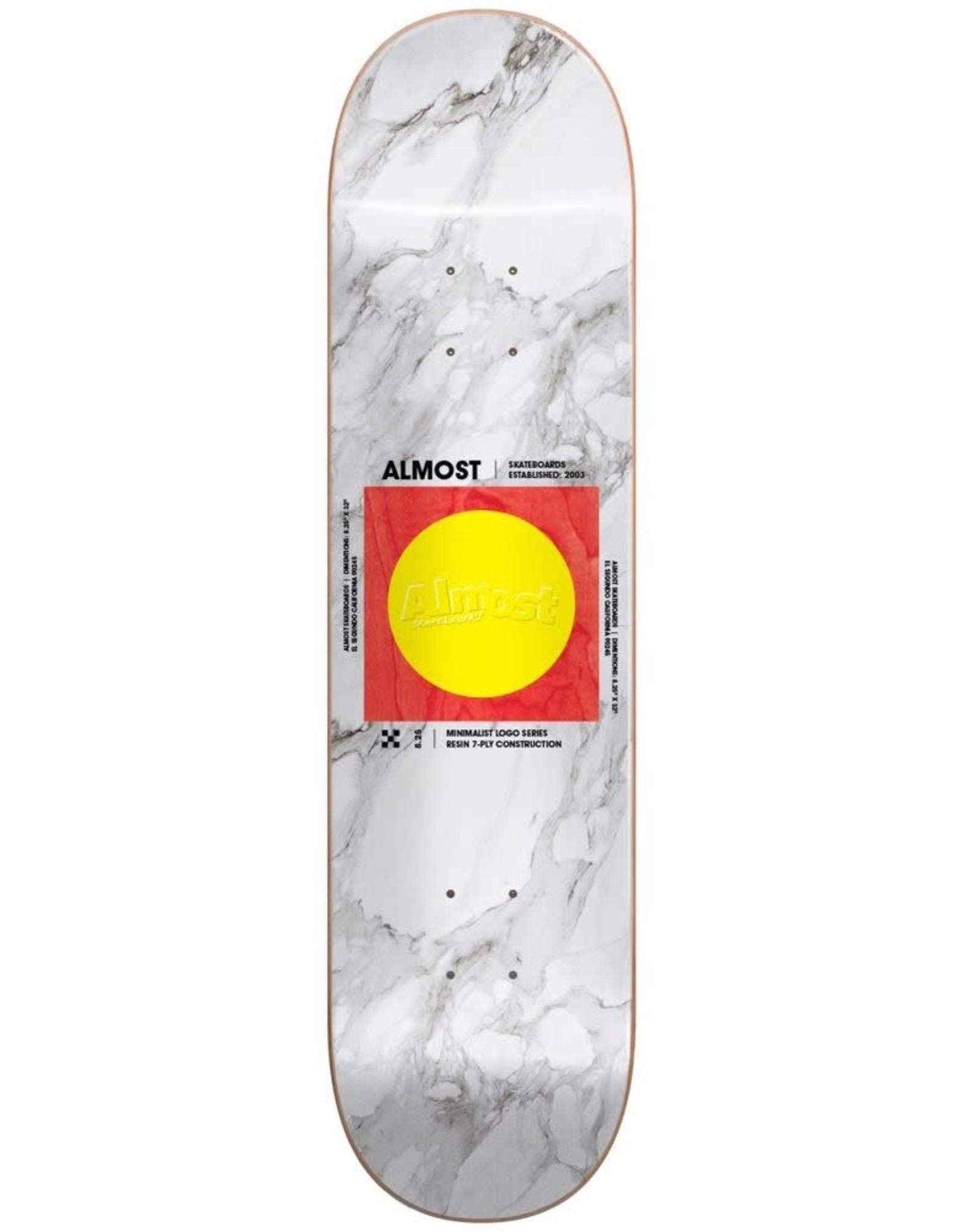almost Almost - Skateboard Minimalist r7 white