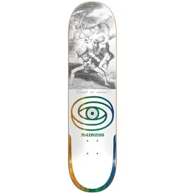 Madness Madness - Skateboard Donde r7 white