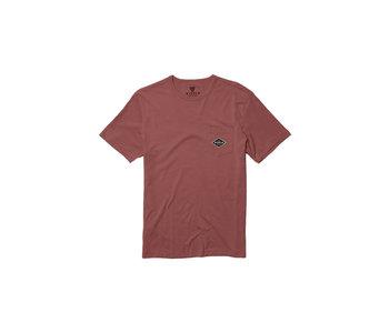 Vissla - T-shirt homme barnstorm rusty red