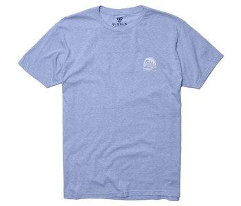 Vissla - T-shirt homme stoke island cabo blue heather