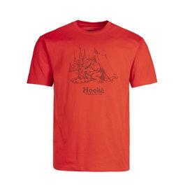 Hooké Hooké - T-shirt homme campfire red clay