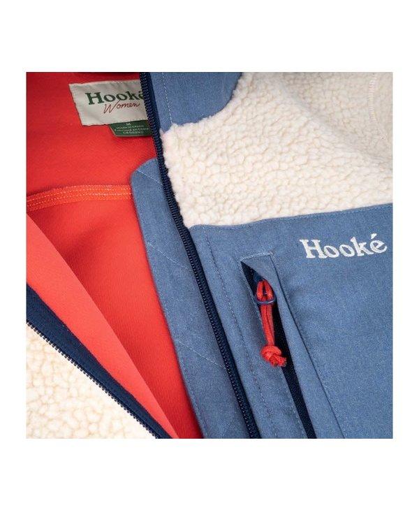 Hooké - Polar femme artic bear turtledove & blue denim