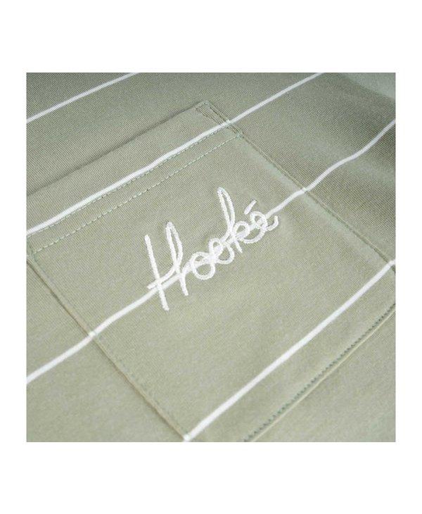 Hooké - Chandail long femme signature pocket light sage