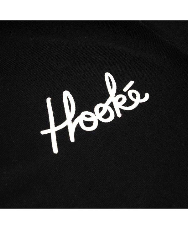 Hooké - T-shirt femme signature vintage black
