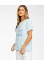 billabong Billabong - T-shirt femme sunset view pool blue
