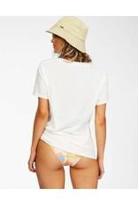 billabong Billabong- T-shirt femme groovy surf break salt crystal