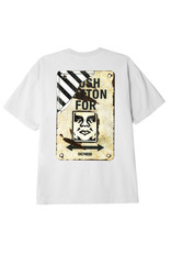 Obey Obey - T-shirt homme crosswalk sign white
