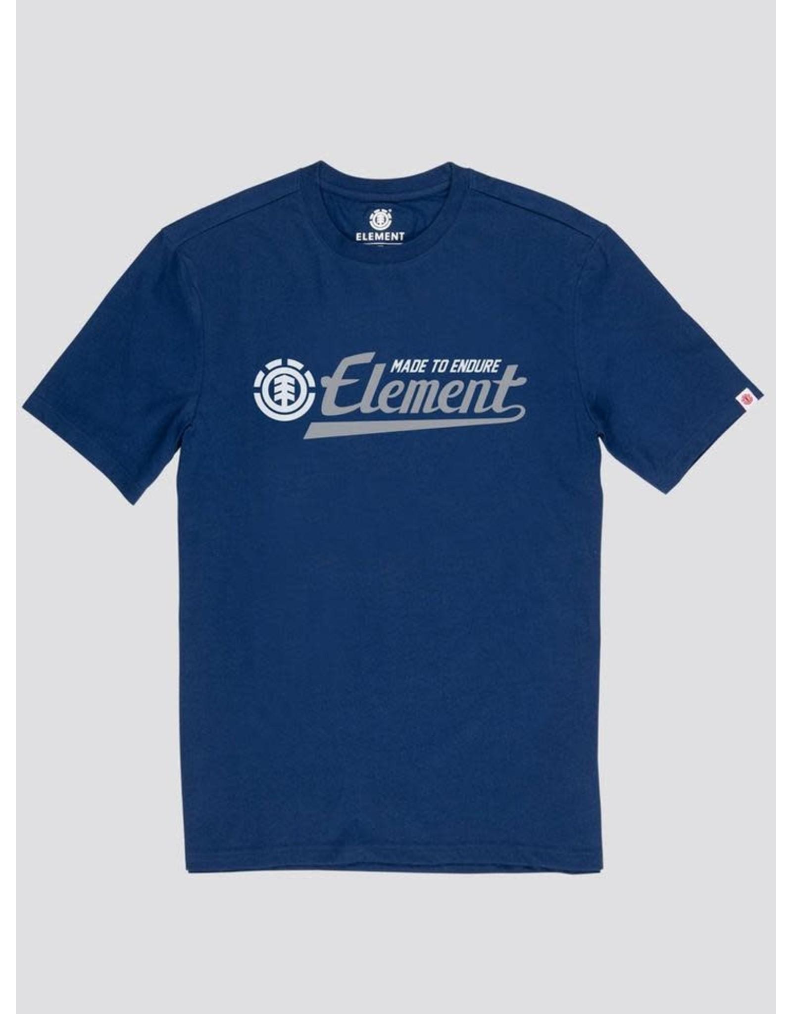 element Element - T-Shirt homme signature  blue depths