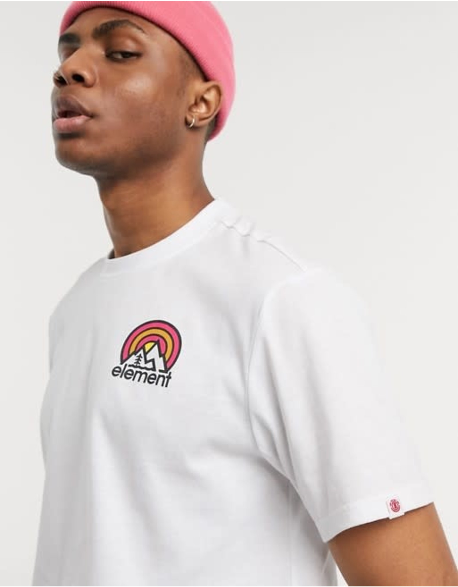 element Element - T-shirt homme sonata optic white