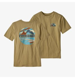 Patagonia Patagonia - T-shirt junior graphic organic fitz roy rights moray khaki