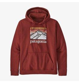 Patagonia Patagonia - Ouaté homme line logo ridge uprisal barn red