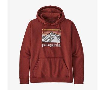Patagonia - Ouaté homme line logo ridge uprisal barn red