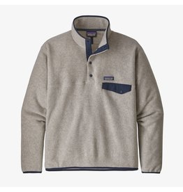 Patagonia Patagonia - Polar homme LW synch snap -t oatmeal heather