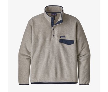 Patagonia - Polar homme LW synch snap -t oatmeal heather