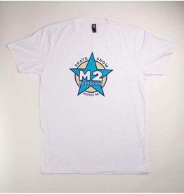 m2 boardshop M2 - T-shirt homme édition 25 ans blanc