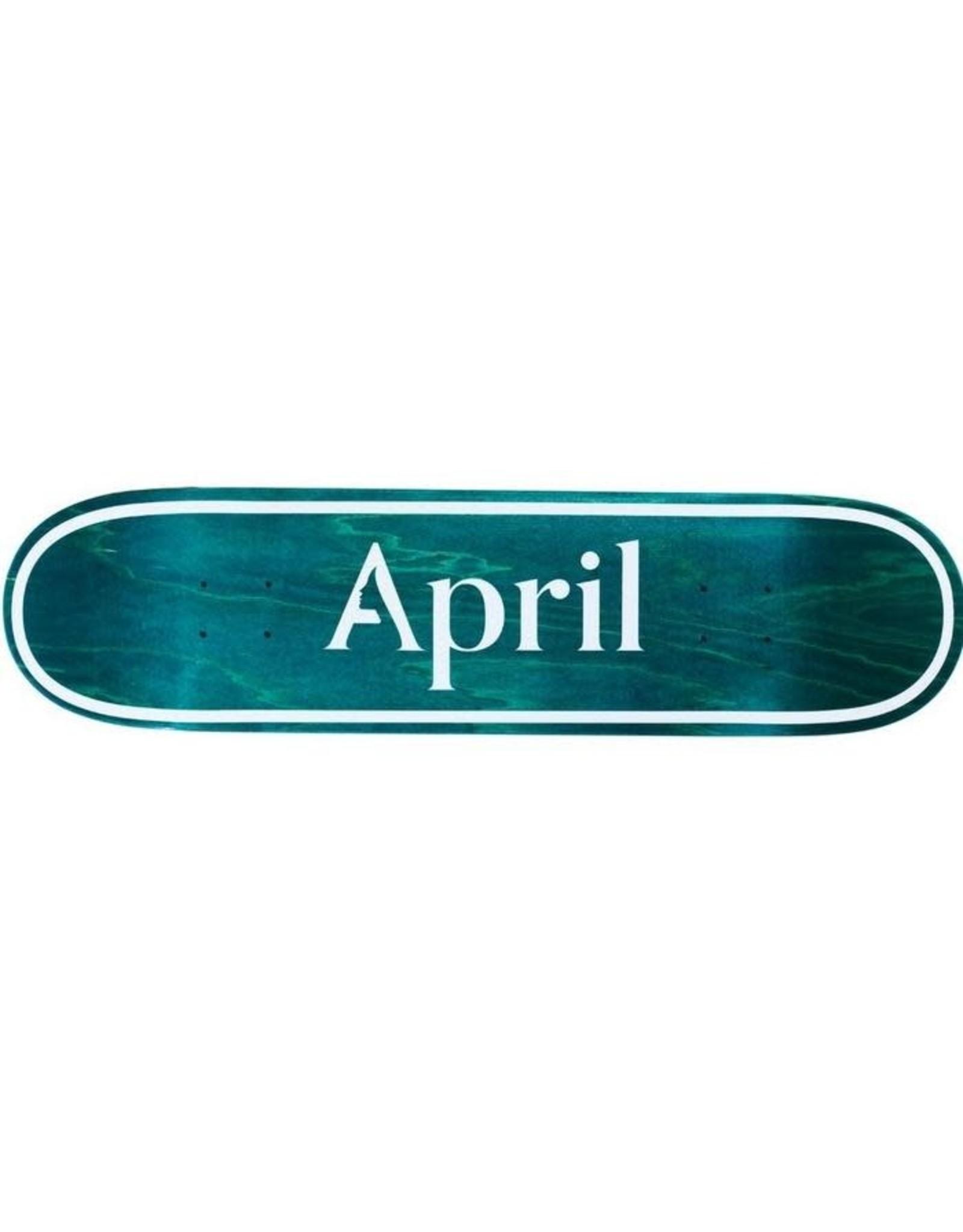 April Skateboard April Skateboard - Skateboard OG logo invert mint