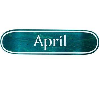 April Skateboard - Skateboard OG logo invert mint