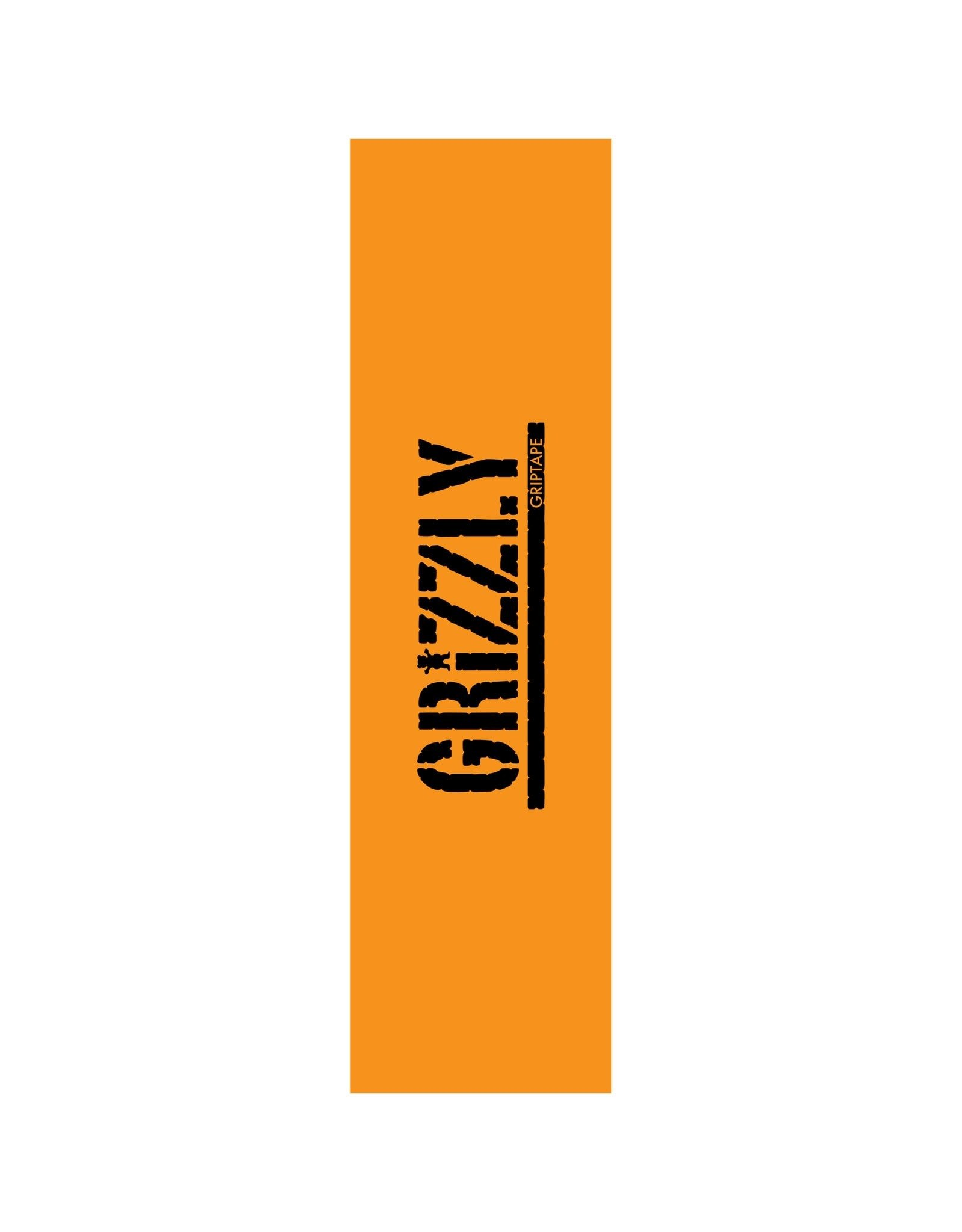 Grizzly - Gripetape stamped necessities yellow/black