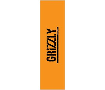 Grizzly - Griptape stamped necessities yellow/black