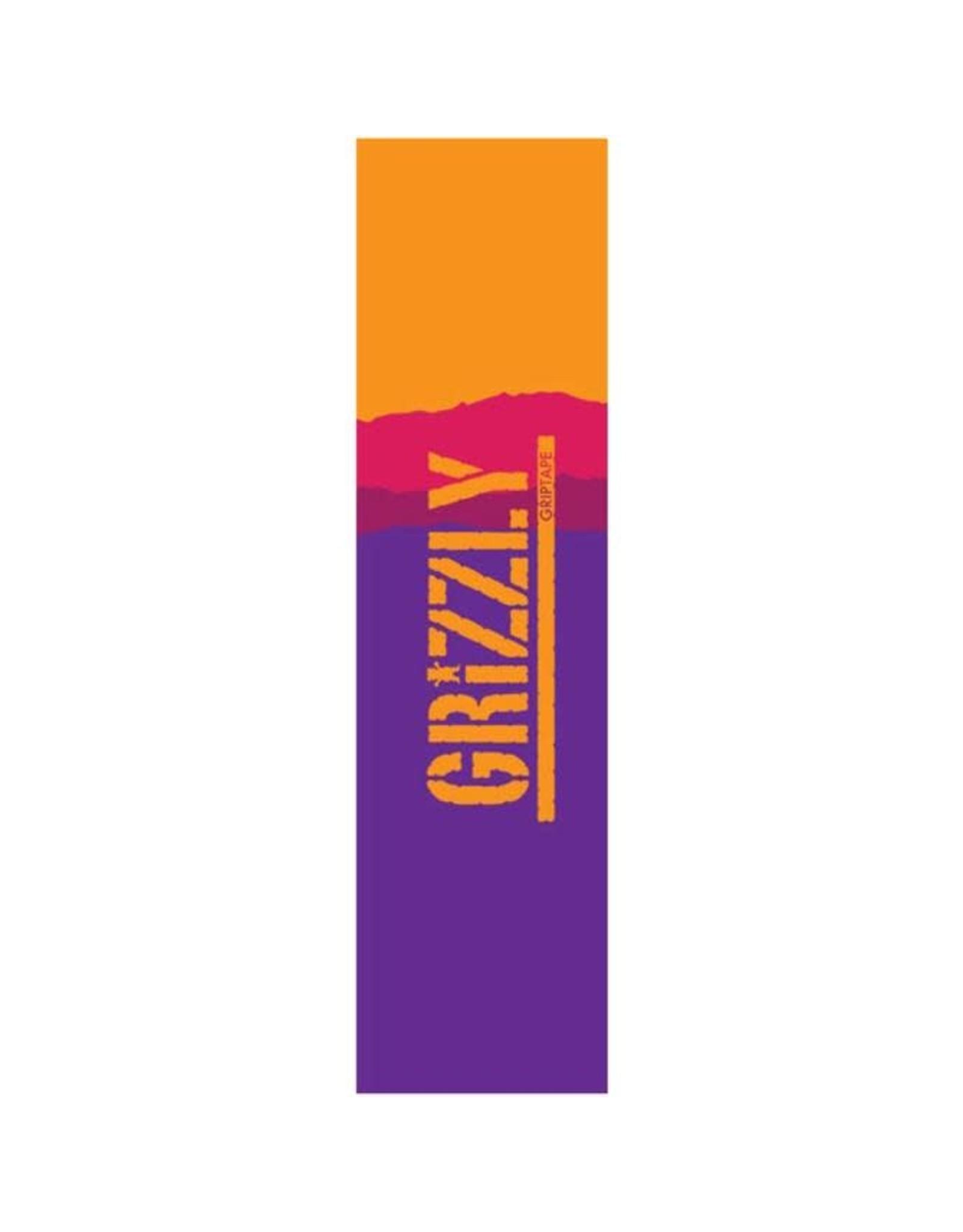 Grizzly - Gripetape range stamp purple gradient