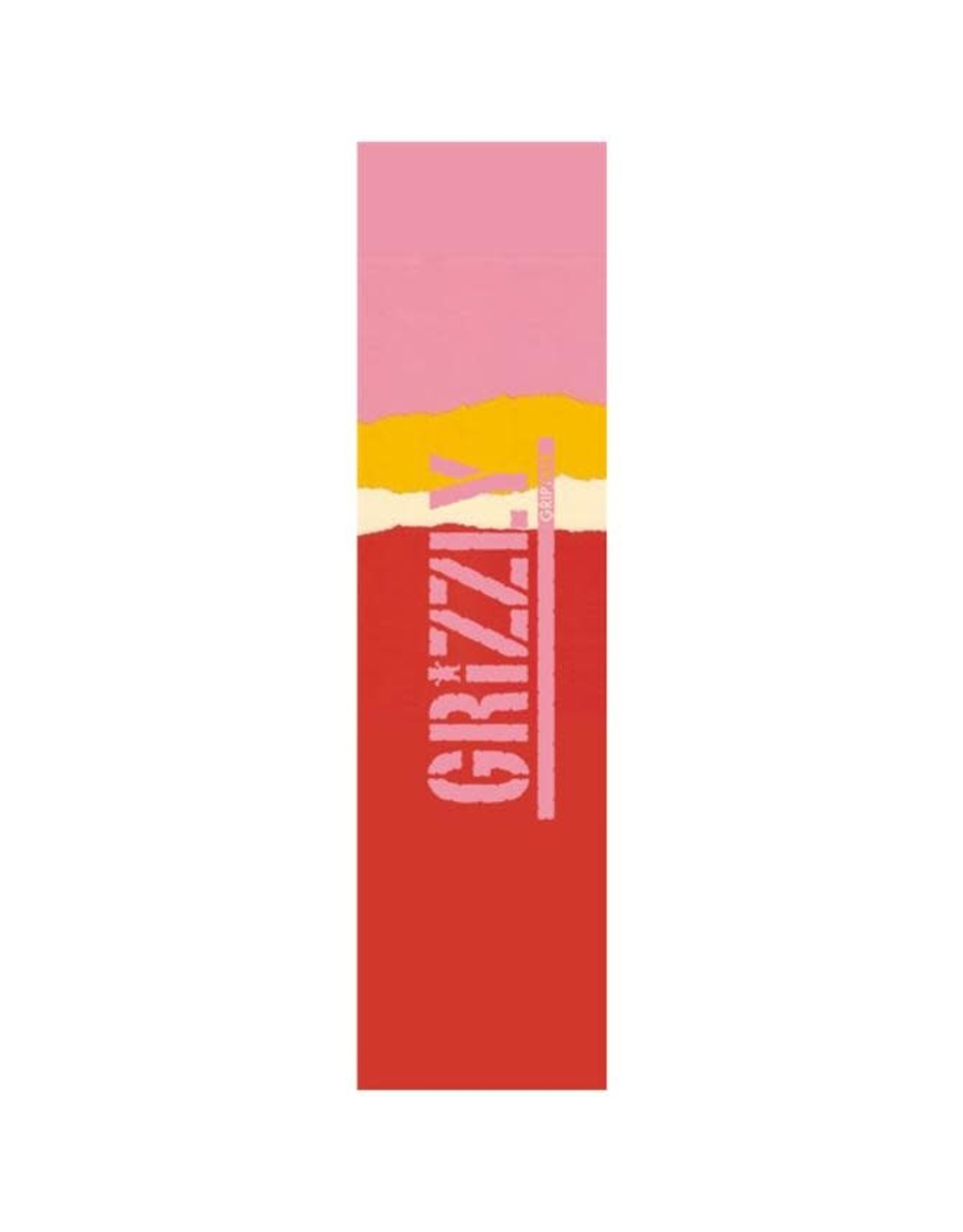 Grizzly - Griptape range stamp red gradient